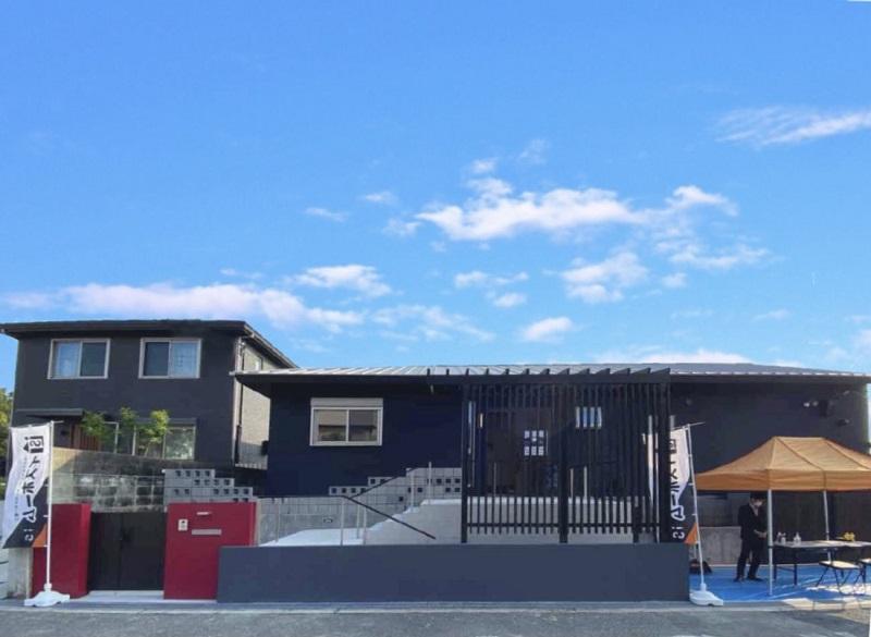 イズホーム戸建てリノベーション モデルハウス外観